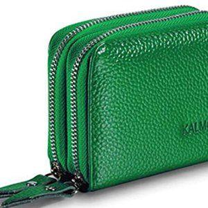 Women's classic Wallet Green
